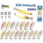 Talilant Ice Jig 3404 60mm 11g värv: Sil