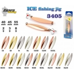 Talilant Ice Jig 3405 40mm 2g värv: SIL