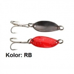 Trout Campione Mini 22mm 1.4g Red Glitter/Black