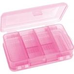 Karp 2-poolne 10 seksiooni 142x85x45mm roosa