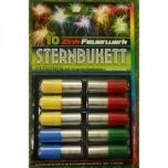 "Stardipüstoli raketid ""Sternbukett"" cal 15 10tk"