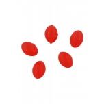Pärlid Ellipsoid 4x6mm 0.8 Punased 25tk