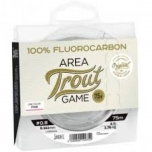 Lucky John Fluorocarbon Area Trout Game 0.18mm 2.2kg 75mm roosa