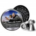 Õhkrelva kuulid BORNER Hollow Point cal 4.5mm 0.58g 500tk