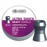 JSB Ultra Shock Heavy Diabolo 0.67g 4.5mm 350tk